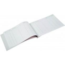 Журнал учета выданных доверенностей А4, 48 листов, горизонтальное расположение