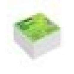 Блок для записи Куб 8*8 500л белый, ОФИС проклееный