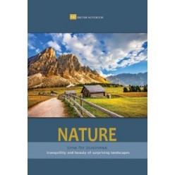 Блокнот А5 060л гребень, Великолепная природа, обл картон (4вида) (5шт в спайке)