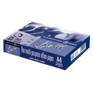 Бумага офисная А4 BALLET CLASSIC, 500л, 80г/м2, яркость 96%, белизна 153%
