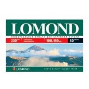 Бумага для фотопечати глянцевая 10*15, 050 листов, 230г/м2 (Lom-IJ-0102035)