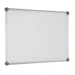 Доска маркерная магнитная 090х120, лаковая поверхность, улучшенная металлическая рамка, алюминиевая