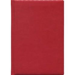 Ежедневник А5 недатир, иск кожа, Виладж.Красный, поролон, 256с