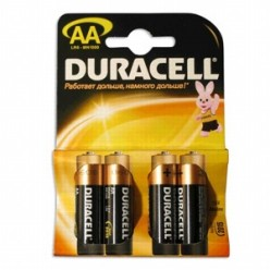 Батарейка АА LR6 Duracell MN1500 K4