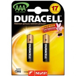 Батарейка ААА LR03 Duracell MN2400 K4