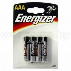 Батарейка ААА LR03 Energizer BL-4