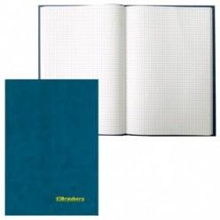 Книга канцелярская 096л клетка, обложка тв. бумвинил, блок-офсет