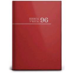 Книга канцелярская 096л клетка, обложка 7БЦ, 200х275, Бордо
