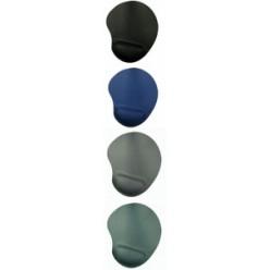 Коврик гелевый с подставкой под запястье 230*205*25мм, синий (BU-GEL/blue/12096)