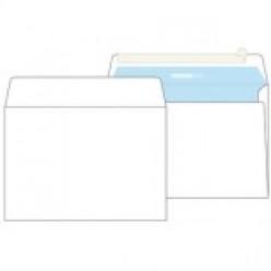 Конверт бумажный, 229х324мм   С4, офсет 080г/м2, стрип, прямой клапан, без запечатки, 1шт