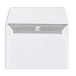 Конверт бумажный, 114х162мм   С6, офсет 080г/м2, стрип, прямой клапан, 1шт