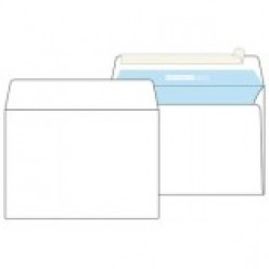 Конверт бумажный, 162х229мм   С5, офсет 080г/м2, стрип, прямой клапан, без запечатки 1шт