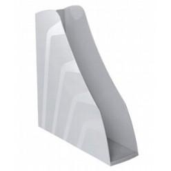 Лоток вертикальный 1секц 080мм Стамм Вектор, серый