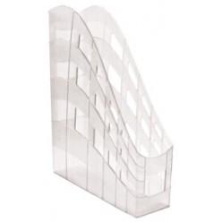 Лоток вертикальный 1секц 075мм EK, прозрачный