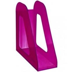 Лоток вертикальный 1секц 090мм Стамм Фаворит, тонированный фиолетовый Слива
