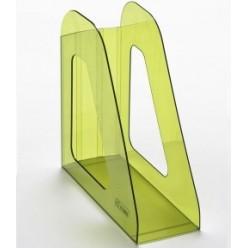 Лоток вертикальный 1секц 090мм Стамм Фаворит, тонированный зеленый Лайм