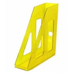 Лоток вертикальный 1секц 070мм Стамм Актив, желтый YELLOW