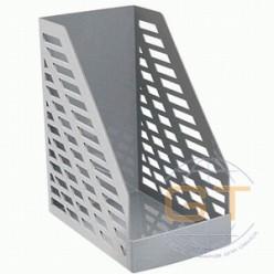 Лоток вертикальный 1секц 160мм Стамм XXL, серый