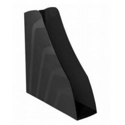 Лоток вертикальный 1секц 080мм Стамм Вектор, черный