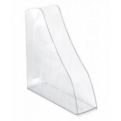 Лоток вертикальный 1секц 080мм Стамм Вектор, прозрачный