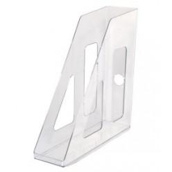 Лоток вертикальный 1секц 070мм Стамм Актив, прозрачный