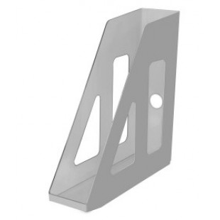 Лоток вертикальный 1секц 070мм Стамм Актив, серый