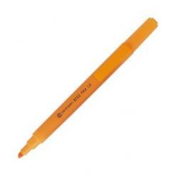 Выделитель текста Centropen Fax, 1-4мм, для любой бумаги, высококонтр., скошенный, оранжевый