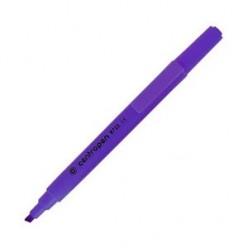 Выделитель текста Centropen Fax, 1-4мм, для любой бумаги, высококонтр., скошенный, фиолетовый