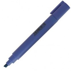 Выделитель текста Centropen Fax, 1-5мм, для любой бумаги, скошенный, голубой