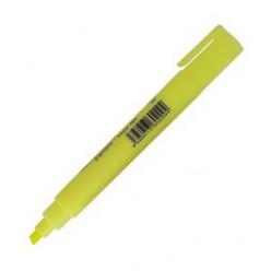 Выделитель текста Centropen Fax, 1-5мм, для любой бумаги, скошенный, желтый