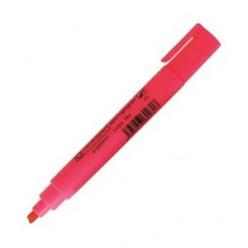 Выделитель текста Centropen Fax, 1-5мм, для любой бумаги, скошенный, красный