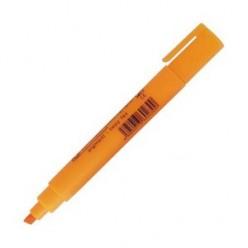 Выделитель текста Centropen Fax, 1-5мм, для любой бумаги, скошенный, оранжевый
