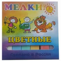 Мел 006шт цветной детский к/к