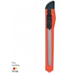 Нож канцелярский 09мм EK Standart, туба