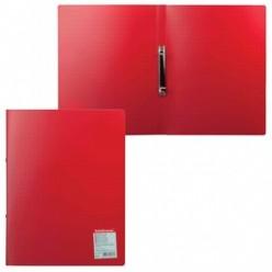Папка пластиковая 2 кольца А4 24мм, EK Standart красная