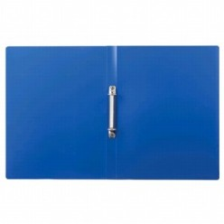 Папка пластиковая 2 кольца А4 24мм, EK Standart синяя