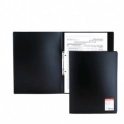 Папка пластиковая 2 кольца А4 24мм, EK Standart черная