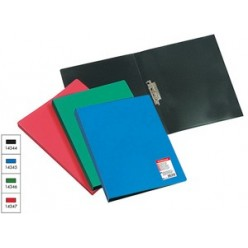 Папка пластиковая зажим А4 EK Standart синий