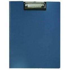 Планшет А4,  крышка, пластик, Metallic, синий