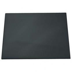 Настольная подкладка для письма 40*60см с декоратив. желобк. черная (824957)
