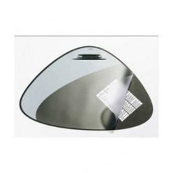 Настольная подкладка для письма 51*69см Desk Mat с прозрачным листом, черная