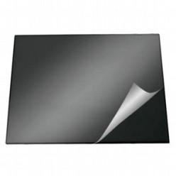 Настольная подкладка для письма 52*65см Durable с прозрачным листом, черная (824968)