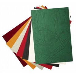 Обложка для переплета А4, картон, под кожу, 230гр./м2, красный, 100шт.