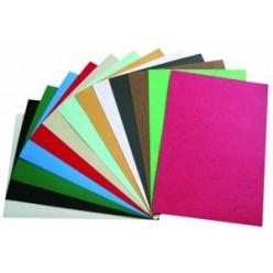 Обложка для переплета А4, картон, под кожу, 230гр./м2, розовая, 100шт.