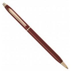 Ручка шариковая ErichKrause INCANTO NT-110, металлический поворотный корпус, красный