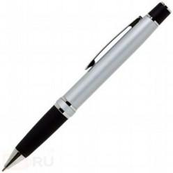 Ручка шариковая ErichKrause SIGNATURE SR-300, металлический поворотный корпус, серый, резиновая накл