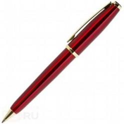 Ручка шариковая ErichKrause SIGNATURE SR-400, металлический поворотный корпус, красный в футляре