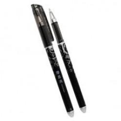 Ручка гел MC BASIR, 0.5мм, исчезающие термочернила, черный корпус, колп/клип, ластик, ЧЕРНЫЙ