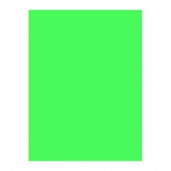 Бумага самокл. А4 зеленая Флюор 1лист матовая