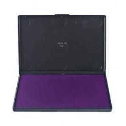 Штемпельная подушка фиолетовая Trodat 7*11см пластиковый корпус